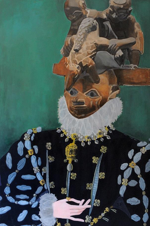 Meet The Artist: Wole Lagunju.Re-Defining Traditional Yoruba Arts