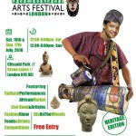 Yoruba Arts Festival Returns to Clissold Park, Hackney London.