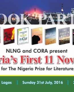 NLNG/CORA Invites Book and Art Lovers to the 2016 Book Party this Sunday