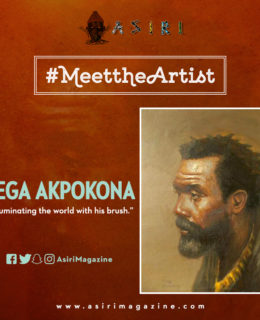"Meet the Artist: Tega Akpokona ""Illuminating the World with his Brush"""