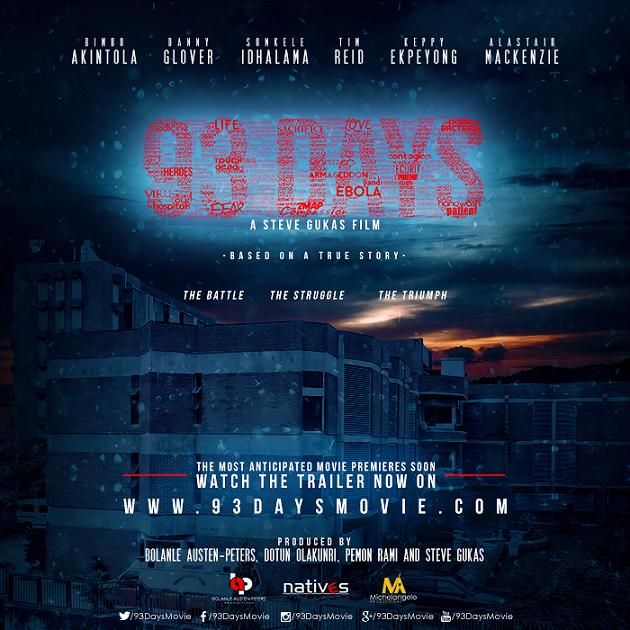 Ebola Movie, 93Days to Premiere at the Toronto International Film Festival 2016