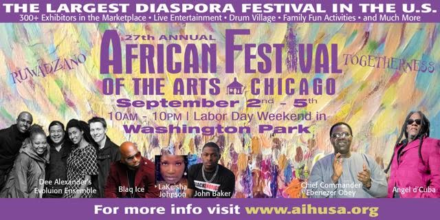 Chief Commander Ebenezer Obey to Perform at 2016 African Festivals of Arts in Chicago