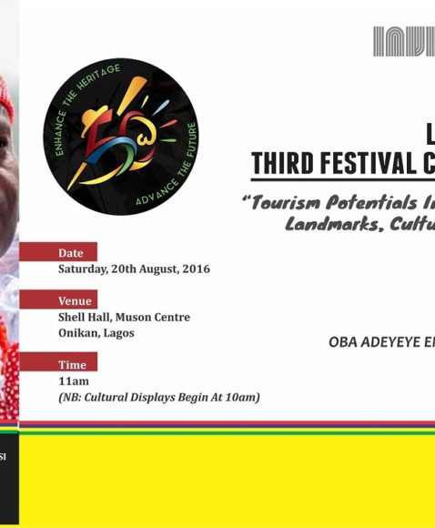 Ooni of Ile-Ife To Speak at the 3rd Lagos at 50 Festival Colloquium