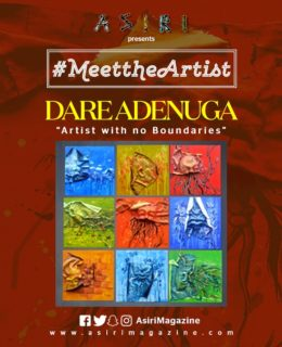 Meet The Artist:Dare Adenuga. Artist with no Boundaries