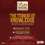 Lagos Book and Arts Festival 2016: The Terror of Knowledge