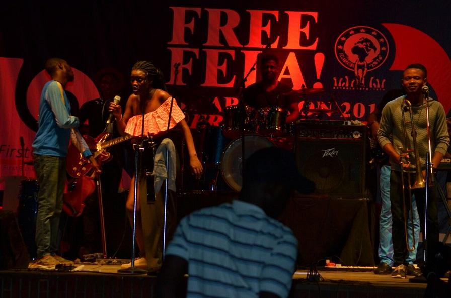 Aduke delivers grand performance at Freedom Park's Felabration Festival