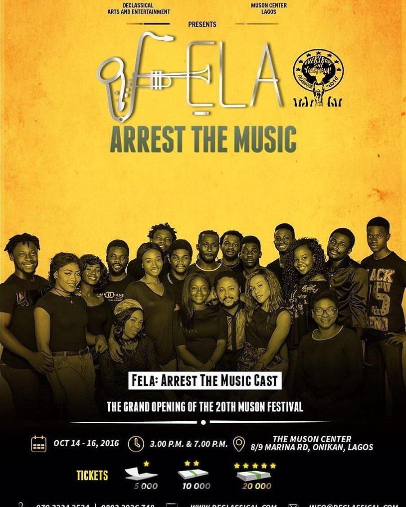 FELA… ARREST THE MUSIC! heralds MUSON FESTIVAL 2016