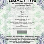 LEGACY Presents 'Ile' Exhibition by Dimeji Coker