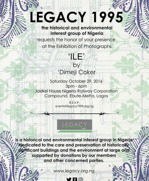 LEGACY Presents 'Ile' Exhibition by Dimeji Coker