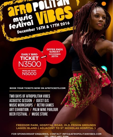 Afropolitan Vibes goes large with first ever music festival