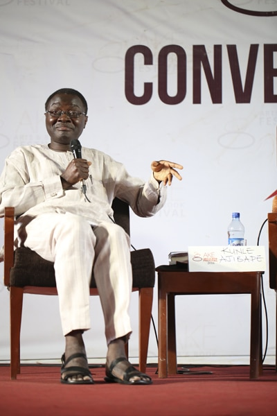 Ngugi wa Thiongo and Kunle Ajibade recount prison experiences at Ake