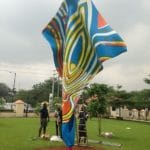 Yinka Shonibare art in Lagos
