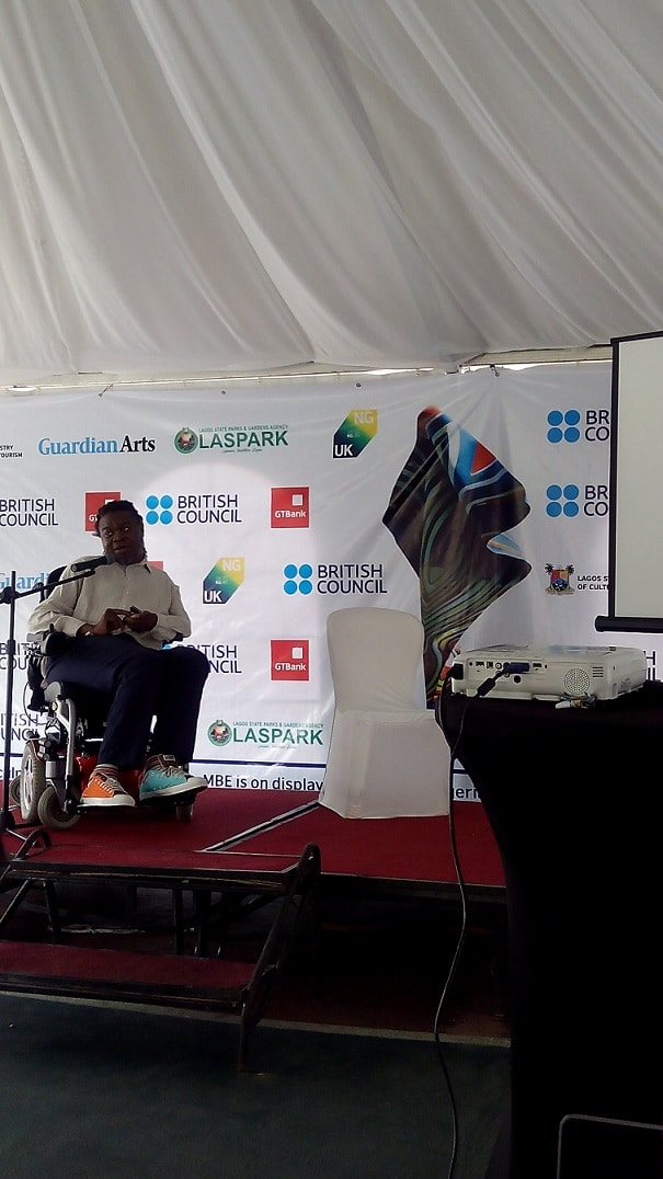 Yinka Shonibare MBE(RA) -''People create barriers for other people, but people in themselves have no limit''