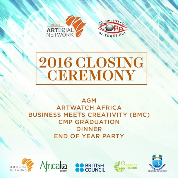 Arterial Network Nigeria Holds Closing Ceremony/ End-of-year Party in Lagos