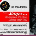 Architect Theo Lawson delivers 7tLagos@50 Colloquium Lecture at Freedom Park, Lagos.