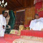 Otunba Gani Adams pays courtesy visit to His Imperial Majesty, Oba Lamidi Olayiwola Adeyemi III.