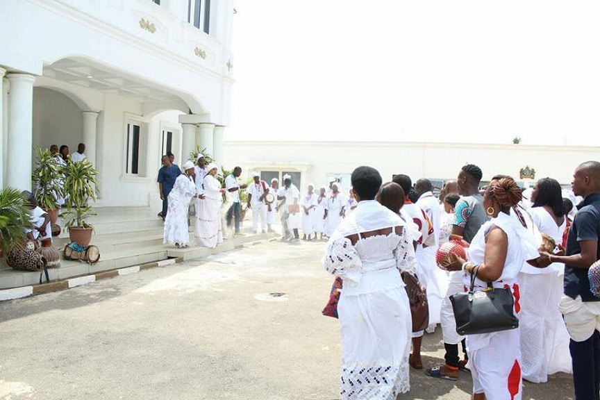 Olokun Festival 2017:Olori Wuraola Ogunwusi Canvases focus on Tradition and Cultural Heritage