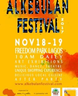 Alkebulan Festival Debut's Maiden Edition in Lagos