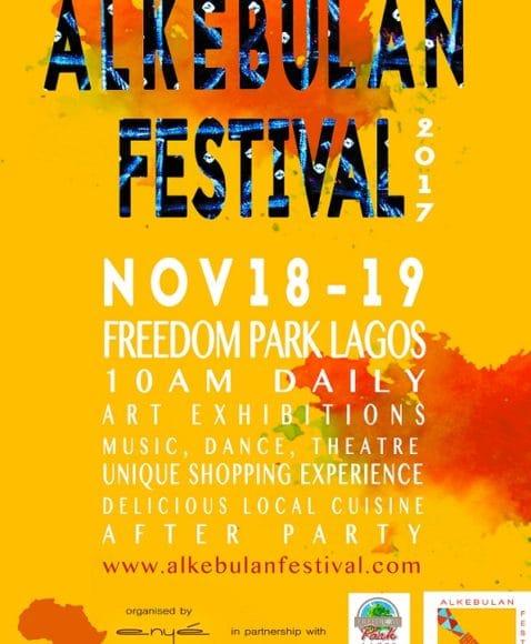 Alkebulan Festival Debut's Maiden Edition in Lagos