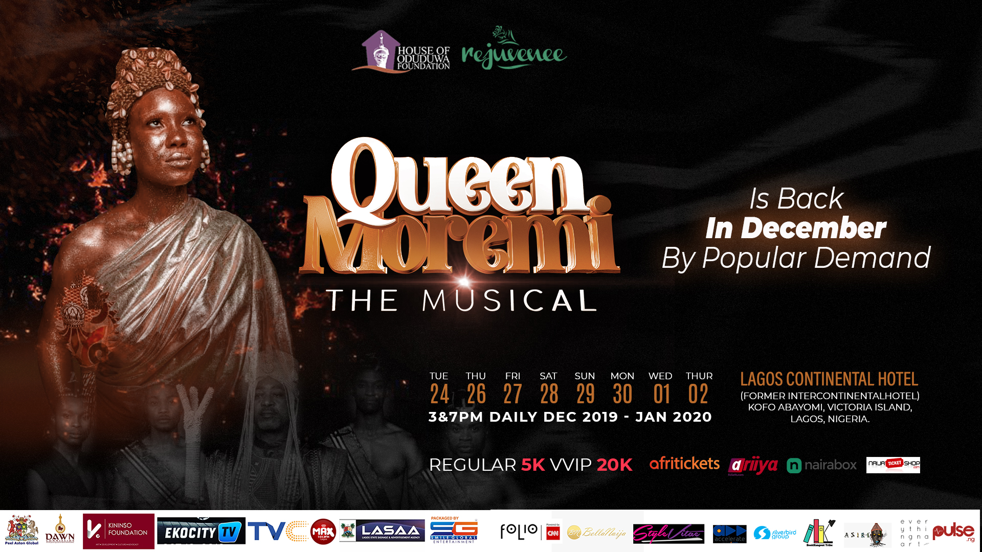 Queen Moremi the Musical Reloaded: