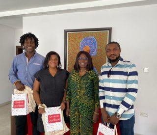 Jude Idada, Lechi Eke, Mrs Gbemi Shashore and Abubakar Adam Ibrahim